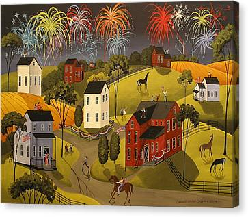 Celebration Canvas Print by Debbie Criswell
