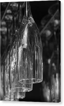 Canvas Print featuring the photograph Celebration Glasses by Ron Dubin