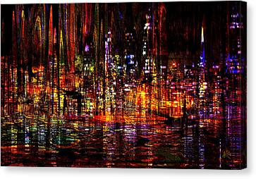 Celebration In The City Canvas Print