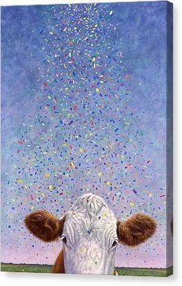 Celebration Canvas Print by James W Johnson