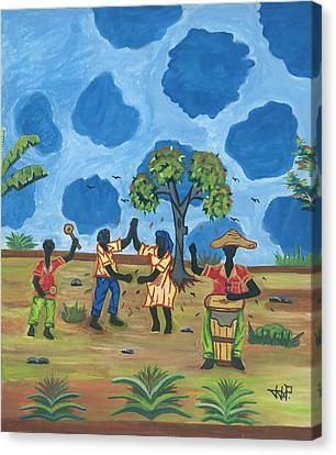 Celebration Canvas Print by John Paul Joseph