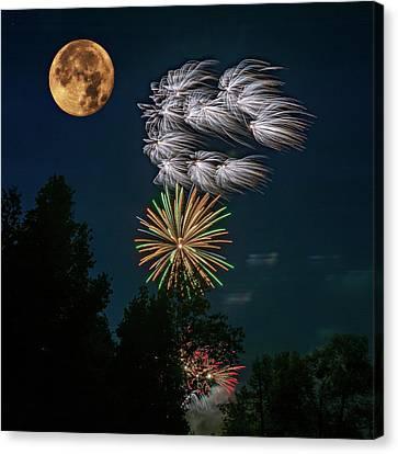 Celebrations Canvas Print by Steve Harrington