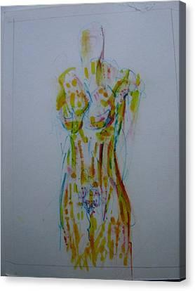 Celery Canvas Print by Dean Corbin