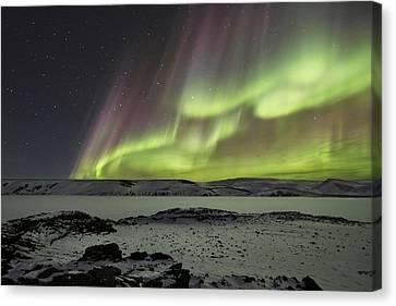 Celestial Canvas Print by Bragi Ingibergsson -