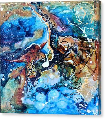 Celestial Earth Sky Canvas Print