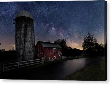 Celestial Farm Canvas Print by Bill Wakeley