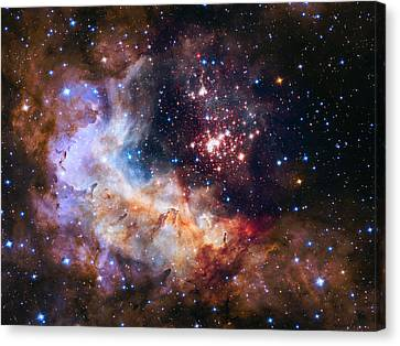 Celebrating Hubble's 25th Anniversary Canvas Print
