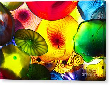 Celestial Glass 2 Canvas Print by Xueling Zou