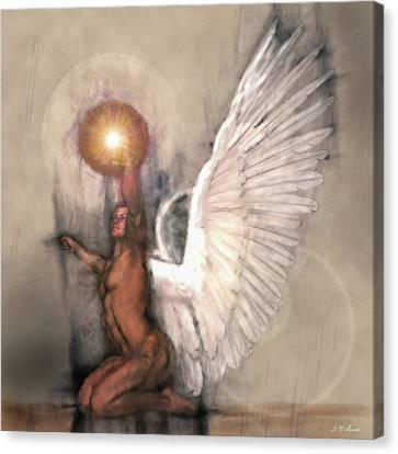 Celestial Glory Canvas Print by Michael Durst
