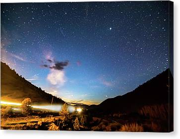 Celestial Highway Canvas Print by James BO Insogna
