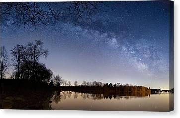 Astronomy Canvas Print - Celestial Sky by Bill Wakeley