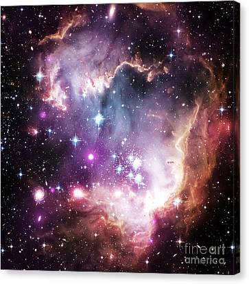 Celestial Space Canvas Print by Johari Smith