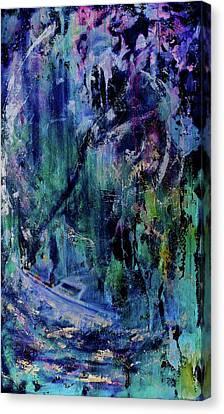 Celestial Storm Canvas Print by Debi Starr