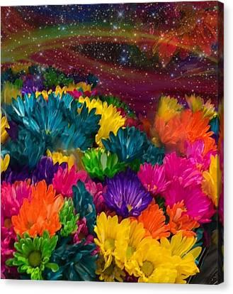 Celestial  Summer  Canvas Print