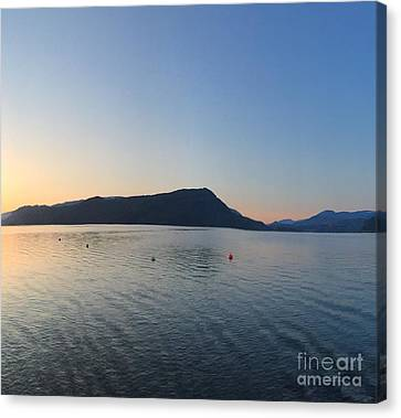 Canvas Print featuring the photograph Celista Sunrise 2 by Victor K