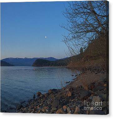 Canvas Print featuring the photograph Celista Sunrise 3 by Victor K