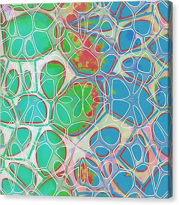 Cell Abstract 10 Canvas Print by Edward Fielding