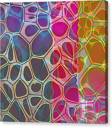Cell Abstract 11 Canvas Print by Edward Fielding