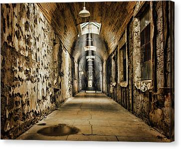 Cell Block 1 Canvas Print by Heather Applegate