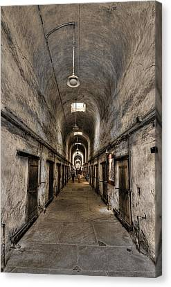 Cell Block  Canvas Print by Evelina Kremsdorf