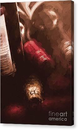 Cellar Wine Bottles Fine Art Canvas Print by Jorgo Photography - Wall Art Gallery