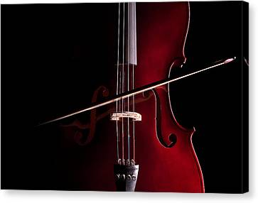 Cello Canvas Print by Dario Infini