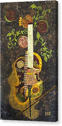 Cello Fantasy Canvas Print by Lynda K Boardman
