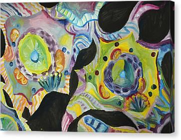 Cells Canvas Print by Kathleen OHagan