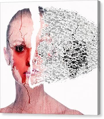 Aging Canvas Print - Cellular Deterioration by Solomon Barroa