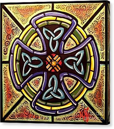 Celtic Cross 2 Canvas Print by Jim Harris