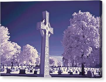 Celtic Cross Canvas Print by James Walsh