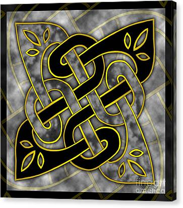 Celtic Dark Sigil Canvas Print