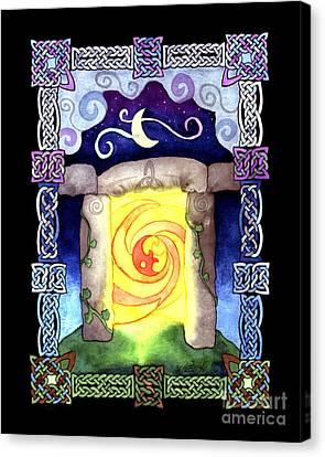 Celtic Doorway Canvas Print