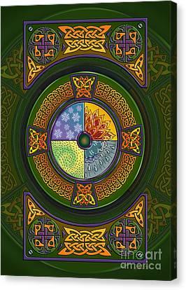 Celtic Elements Canvas Print
