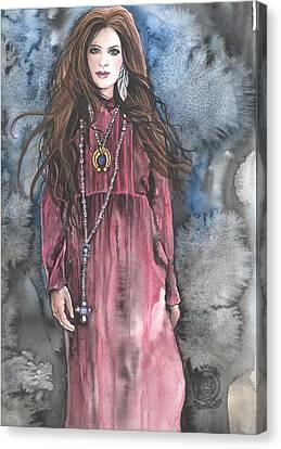 Celtic Pride Canvas Print by Kim Whitton