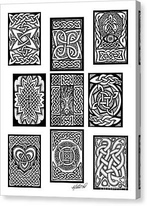 Celtic Tarot Spread Canvas Print