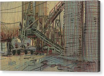 Cement Company Canvas Print