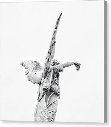 Cemetery Angel 2 Canvas Print by Gia Marie Houck