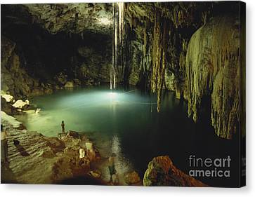 Cenote Of Dzitnup Canvas Print