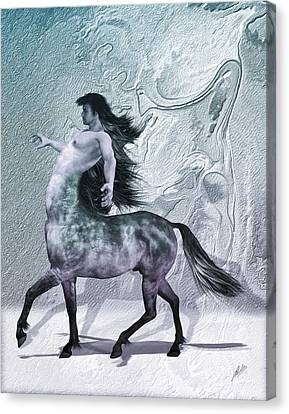 Centaur Cool Tones Canvas Print