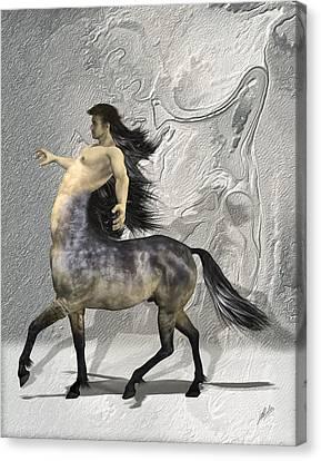 Centaur Warm Tones Canvas Print