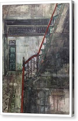 Centenary Commercial Port-wangchun Tower Canvas Print by Zhixun Lin