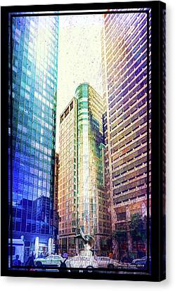 Center Of Attention Canvas Print by Marvin Spates