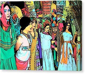 Central America Nicaragua Canvas Print by Lisa Dunn