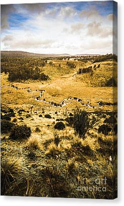Central Highlands Of Tasmania Canvas Print by Jorgo Photography - Wall Art Gallery