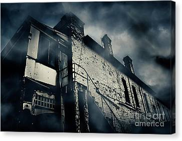 Central Hotel Of Horrors Canvas Print by Jorgo Photography - Wall Art Gallery