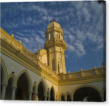 Central Library 01 Canvas Print by Khalid Saeed