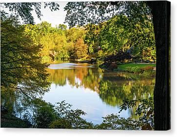 Central Park - City Nature Park Canvas Print