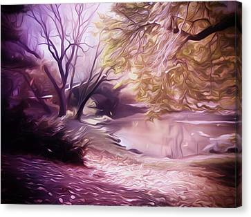 Central Park Canvas Print