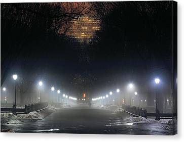 Central Park Shadows Canvas Print by JC Findley